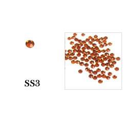 Стразы Tufi Profi - Aurum SS3, 100 шт (P38)