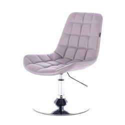 Косметический стул HR-590 (Польша) на диске - серый