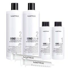 Базовый набор для защиты волос при окрашивании Matrix Bond Ultim8, шаг 1-2 * 125 мл, шаг 2 - 2 * 500 мл