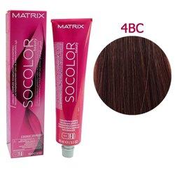 Краска для волос Matrix Socolor Beauty 4BC (шатен коричнево-медный), 90 мл