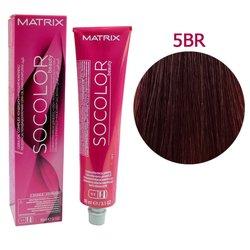Краска для волос Matrix Socolor Beauty 5BR (какао-вишневый светлый шатен), 90 мл