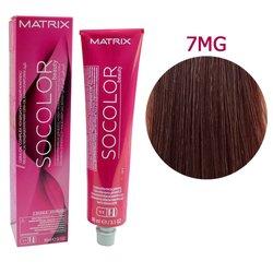 Краска для волос Matrix Socolor Beauty 7MG (блондин мокка золотистый), 90 мл
