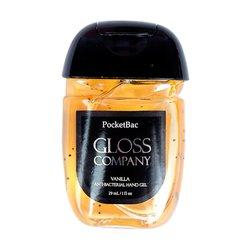 Антисептик (санитайзер) Gloss для рук, ваниль, 29 мл