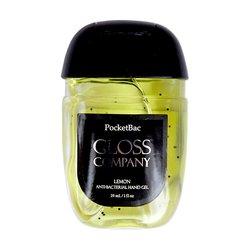 Антисептик (санитайзер) Gloss для рук, лимон, 29 мл
