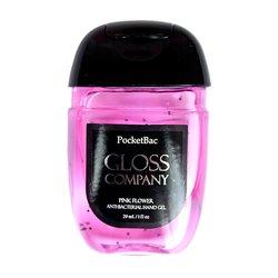 Антисептик (санитайзер) Gloss для рук, розовый цветок, 29 мл