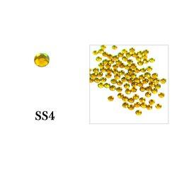 Стразы Tufi Profi - Citrin SS4, 100 шт (P24)
