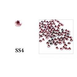 Стразы Tufi Profi - Black Diamond SS4, 100 шт (P03)