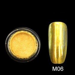Зеркальная пудра M06 Canni - золото, 2 г