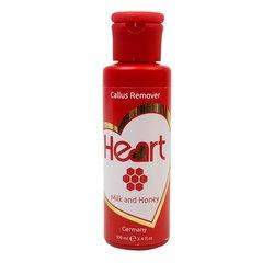 Ремувер Heart Callus and Cuticle Remover - мед и молоко, 100 мл