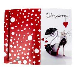 """Альбом для слайдер-дизайна """"Glamour Cats"""" на 120 карток"""