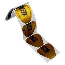 Форма для наращивания ногтей YRE - золотой, 10 шт