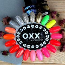 Гель-лаки, палитра (цвета гель-лака) Oxxi - ассорти, неоновый, с блестками, 8 мл