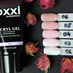 Полигель, палитра (цвета полигеля) OXXI - №02-06