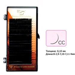 Ресницы I-Beauty mix на ленте CC 0.1 - 8-2, 9-7, 10-7, 11-4 мм