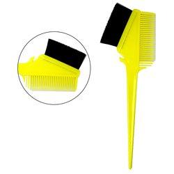 Кисть для покраски Salon для покраски двусторонняя - желтый