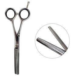 Филировочные ножницы для стрижки ESTET с черными кольцами 5,5