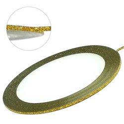 Лента для ногтей - золото голографик