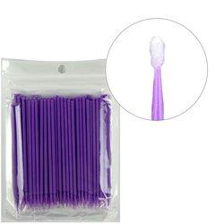 Микробраш I-Beauty - фиолетовый эконом, 100 шт