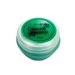Ремувер Sky для ресниц кремовый - зеленый, 15 мл
