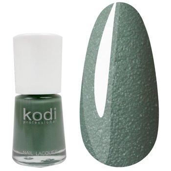 Лак №329 KODI 15 мл, пастельно-зеленый с очень мелким бархатным песком : Tufishop