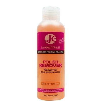 Jerden Proff Polish Remover - Жидкость для снятия лака с ацетоном, манго-персик, 150 мл : Tufishop