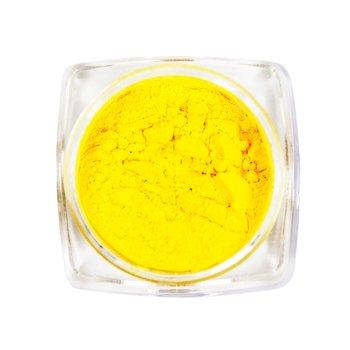 Термо втірка для нігтів, №5 - цинково-жовтий