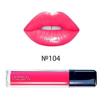 Блеск для губ Лореаль (loreal) GLAM SHINE Cream №104 - mafia gloss, 8 мл (ГЛю1204495)