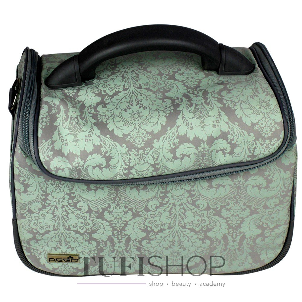 Сумка (чемодан) для майстра - сірий з орнаментом (8091)- купити в ... a88201f4602ec