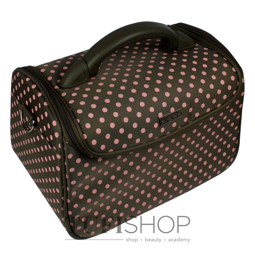 Сумка (валіза) для майстра - оливковий в рожевий горох (7844 ... 33740e37e3120