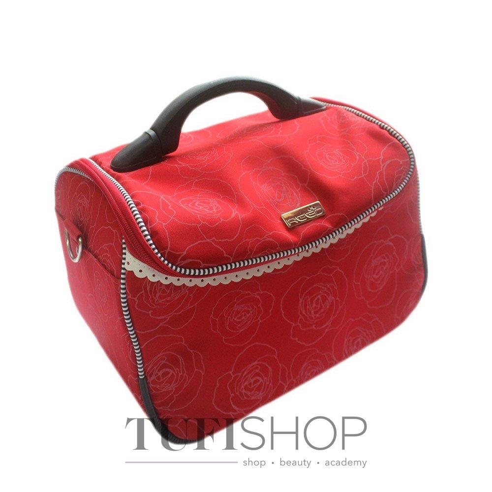 Сумка (валіза) для майстра - червоний в троянди 209014255bcfc