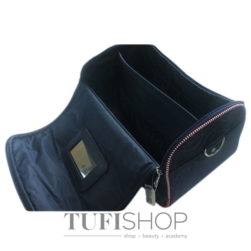 Сумка (валіза) для майстра - синій в троянди 1e34af6bf9af1