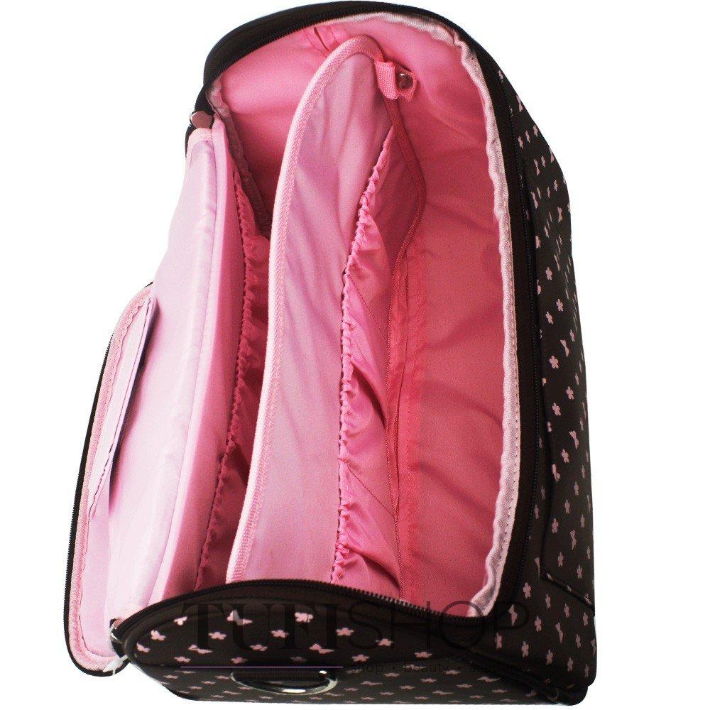 ... Сумка (чемодан) для мастера - коричневый в розовые цветы и бабочки fabb0d69e1029