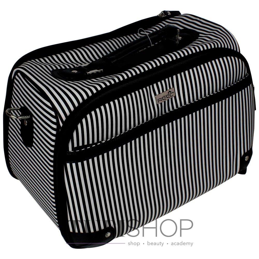 Сумка (валіза) для майстра - чорний в білу смужку (7921) ... 84e1889e4e01e