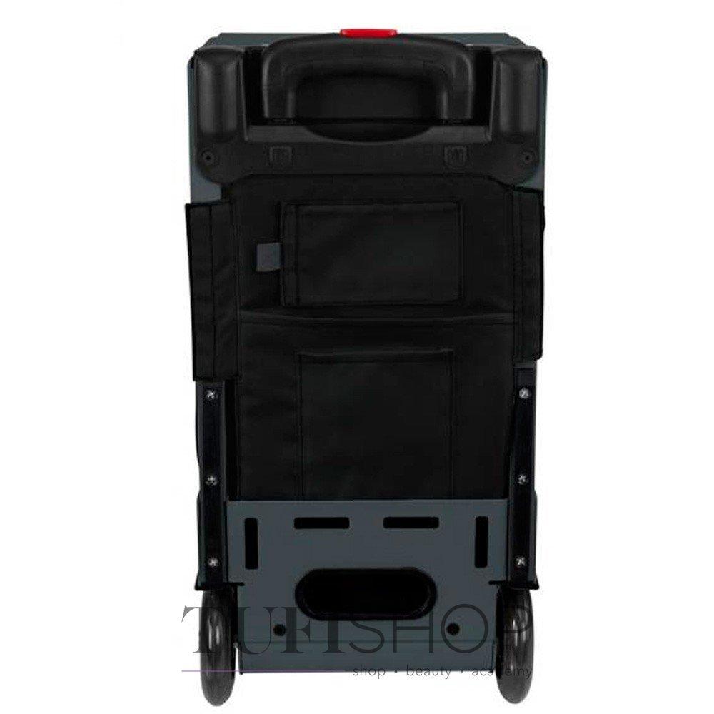 ... 49 Сумка - чемодан для мастера ZUCA Pro Artist Oxford Slate тканевая  серо-черная b95b7ecb11c4e