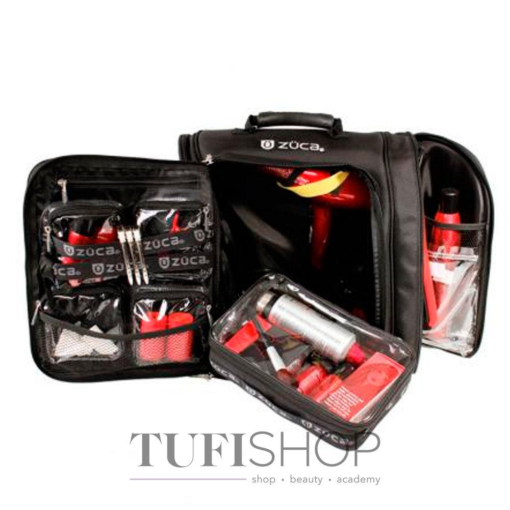 ... Сумка - рюкзак для мастера ZUCA Artist тканевая черная 5bf4071dea7d8