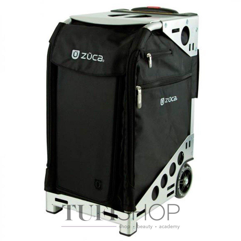 Сумка - валіза для майстра ZUCA Pro Artist Black   Silver тканинна  сріблясто-чорна 4662928519ea2