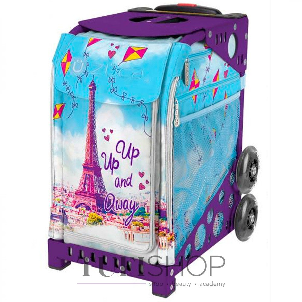 Сумка - валіза для майстра ZUCA Sport Artist Up up   Away   Royal Purple  тканинна 0ec3b2752e1b0