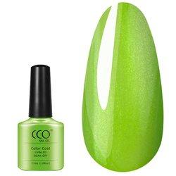 Гель-лак Shellac CCO №858- Limeade - салатово-зеленый с микроблеском, 7,3 мл
