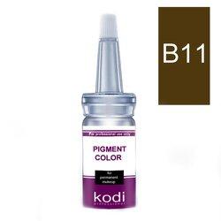 Пигмент для бровей KODI B11 - эспрессо, 10 мл