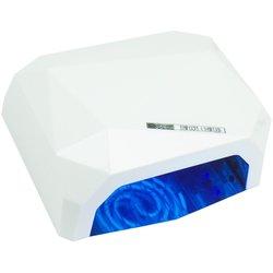 LED+CCFL лампа многогранник 36 Вт сенсор, белый