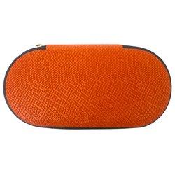 Маникюрный набор KDS - оранжевый, рифленый (4-7105)