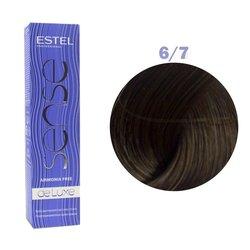 Краска для волос Estel Sense №6/7 (темно-русый коричневый)